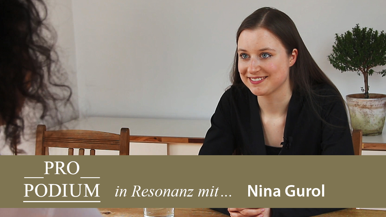 Pro Podium im Interview mit der Pianistin Nina Gurol